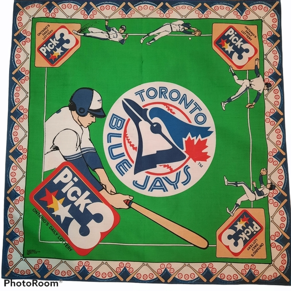 BLUE JAYS vintage bandana